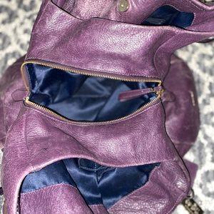 Dark purple Coach Bag